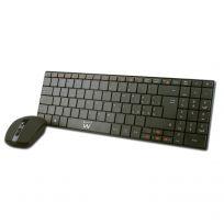 Tastiera Wireless ultra compatta con mouse