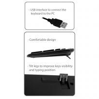 Tastiera multimediale USB Layout US